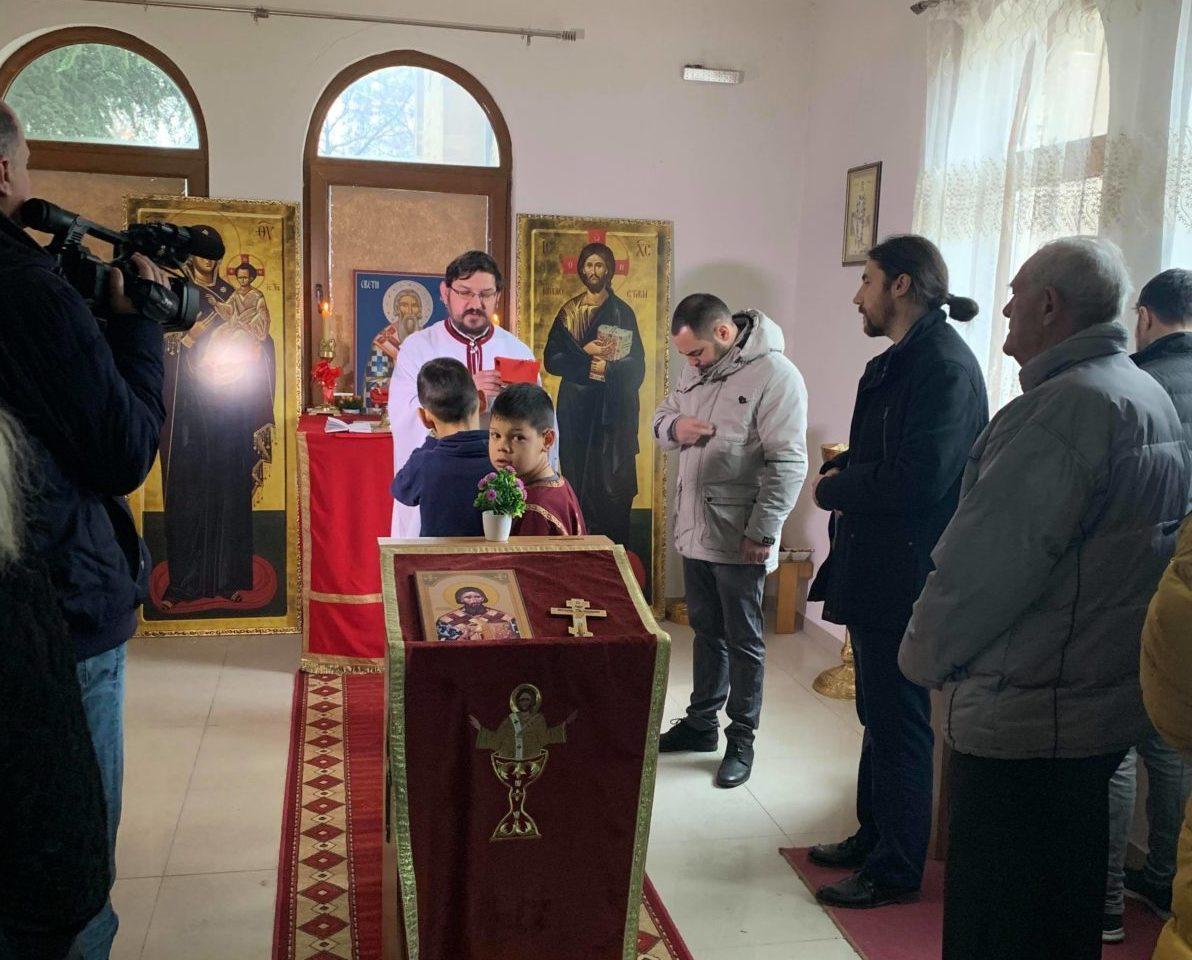 Proslava slave u Hramu Svetog Save u južnom delu Mitrovice