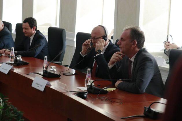 Sastanak sa liderima političkih stranaka