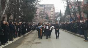 Povorka uoči sahrane Olivera Ivanovića, Foto: Portal Kosse