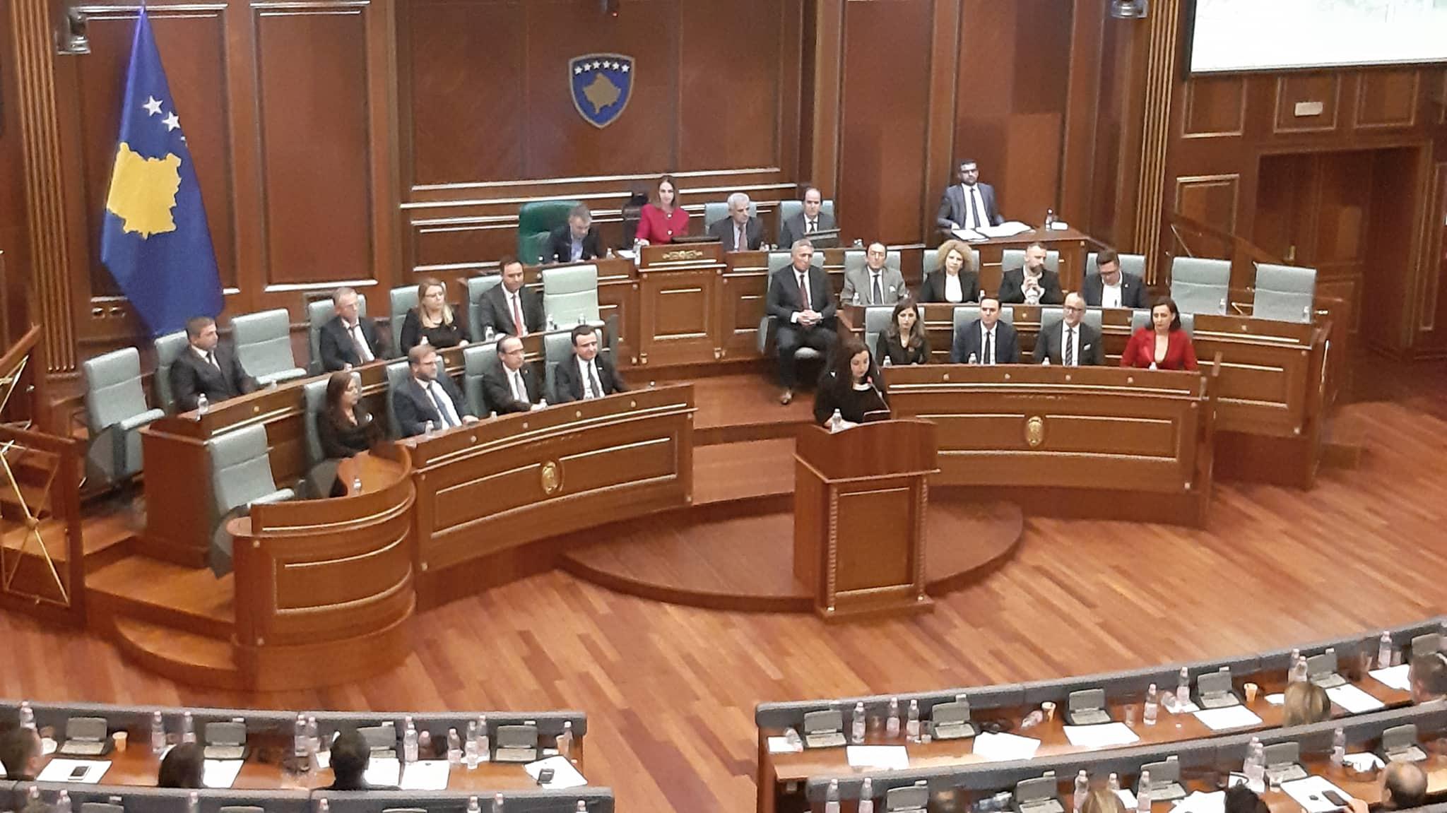 Sednica vjosa izabrana za predsednicu skupštine