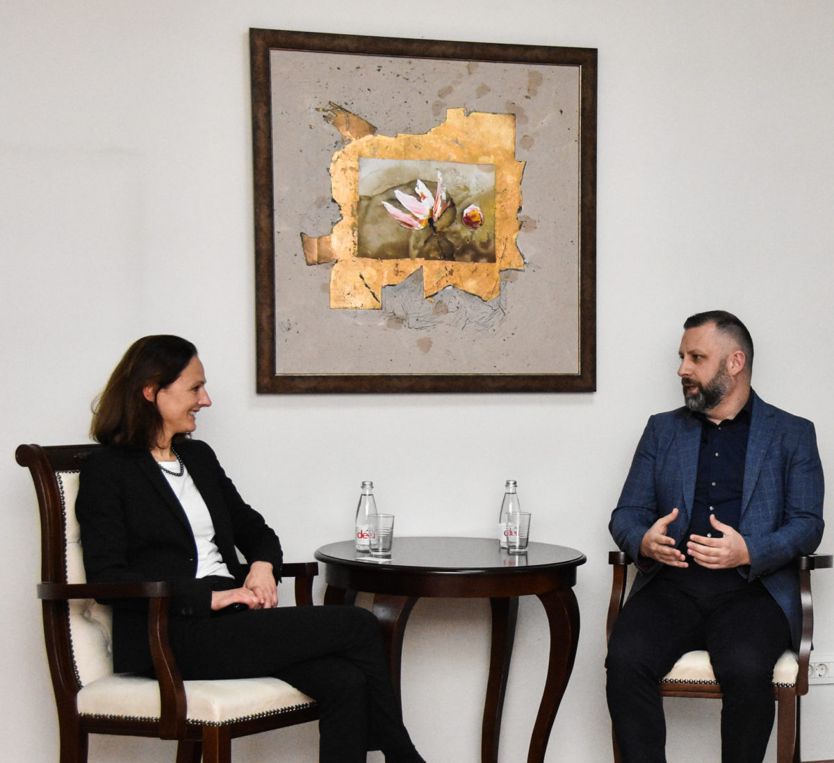 Jevtić i Ana Rostocki