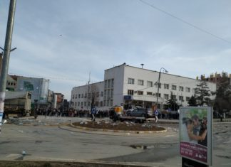 Foto RTV Puls: Saobraćajna nesreća u Gnjilanu