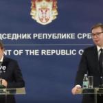 Izjave za medije Vučića i Varhejija