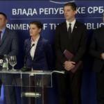 predstavnici Srba sa Brnabić i Đurić