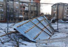 Foto: Urušen krov u ulici Tanaska