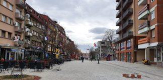 Mitrovičko šetalište ovog jutra