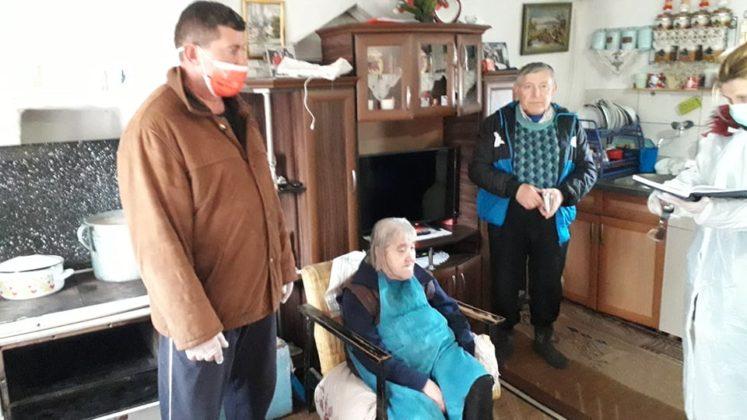 Akcija pružanja pomoći starijim
