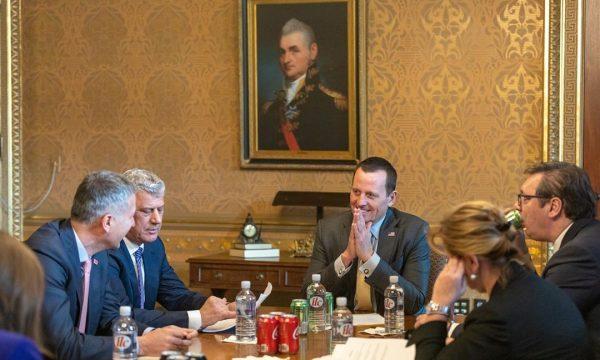 Grenel, Vučić, Tači