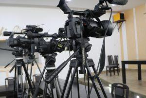 Mediji novinari novinar snimanje, kamera
