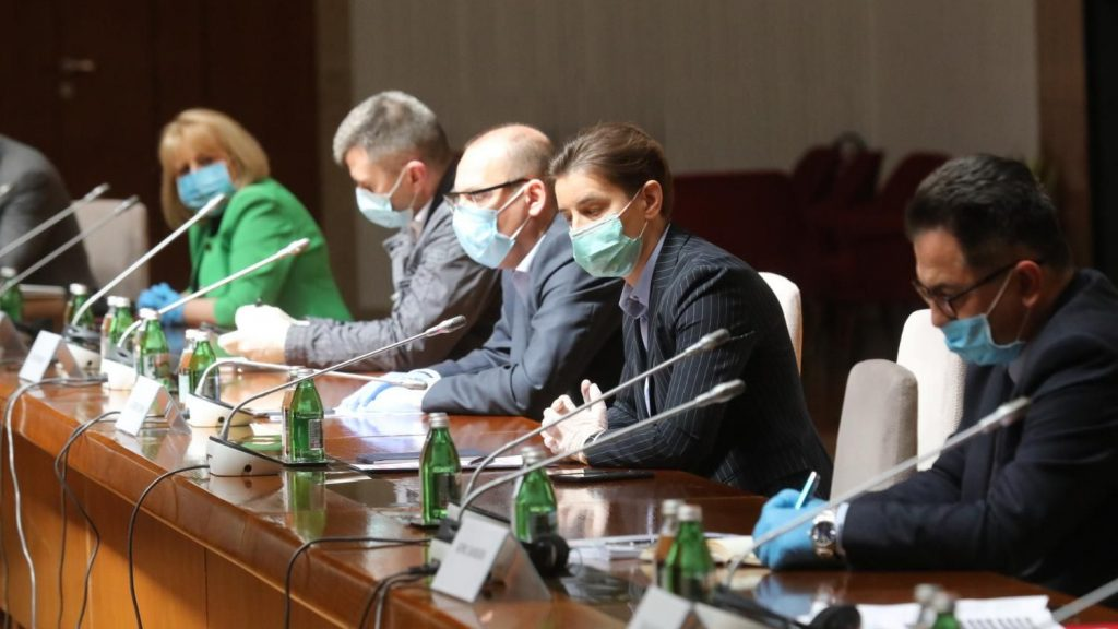 FOTO: Sednica Kriznog štaba/ FoNet/Slobodan Miljević