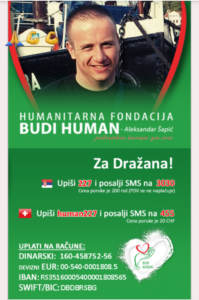 Dražan Vučić Fondacija AleksandraŠapića Budi Human