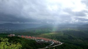 Sunčana dolina pogled