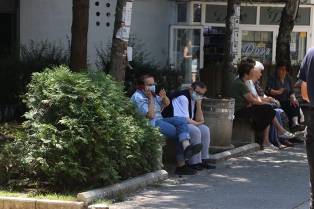 Kosovska Mitrovica, dan posle novih mera/30. 06.