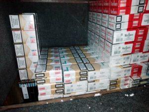 sakrivene cigarete u specijalno napravljenom bunkeru na Horgosu