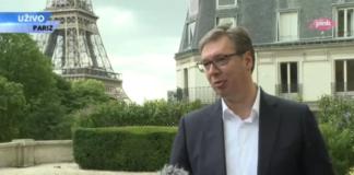 Vučić u Parizu