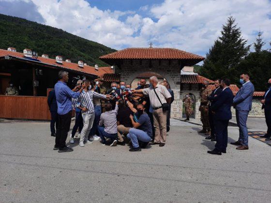 Hoti u manastiru Dečani