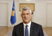 Kosovski predsednik Hašim Tači