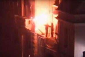 Ambasada-SAD Beograd Paljenje požar