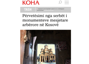 Koha Crkva Srbi nasleđe SPC