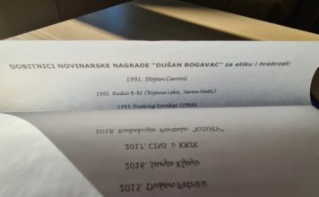 Nagrada Dušan Bogavac