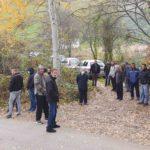 Meštani sela Graničane protest