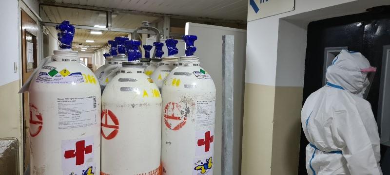 Korona kiseonik bolnica Mitrovica