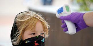 Dete, Deca, Maska, Temperatura korona