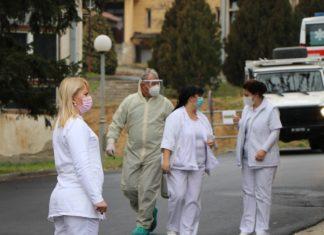 Korona KBC Kosovska Mitrovica zdravstveni radnici