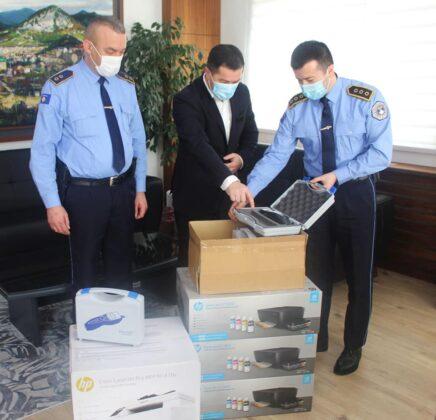 Gradonačelnik Leposavič donirao policijij