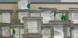 FOTO: glasačke kutije Kosovo Kallxo