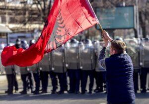 Protest makedonija