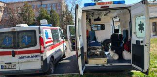 Hitna Pomoć ambulatno vozilo bolnica