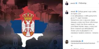 Vučić instagram