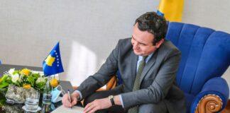 FOTO: Aljbin Kurti/ Kabinet kosovskog premijera