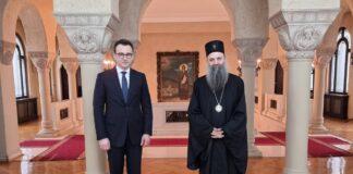 Petković sa patrijarhom Porfirijem