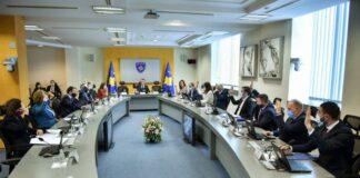 Sastanak kosovske vlade