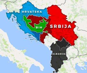 Mapa nonpejper Slovenija
