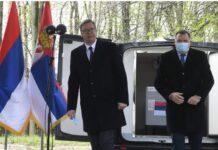 Milorad Dodik i Vučić
