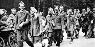 FOTO: Dojče vele/ Kraj rata značio je oslobođenje za one koji su preživeli logore. Ovde na slici su francuski politički zarobljenici koji su iz Berlina, većina peške, krenuli na dug put kući...