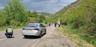 Kosovska policija udes nesreća ilustracija
