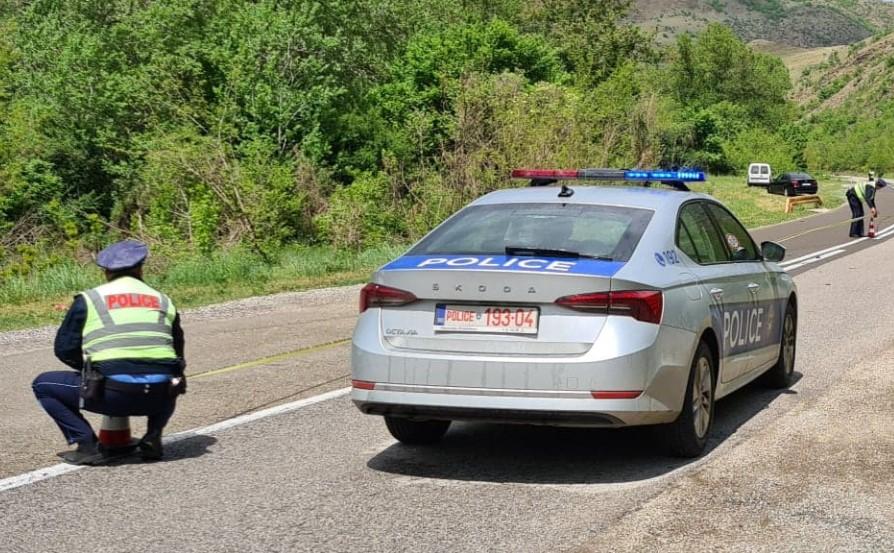 Kosovska policija patrola