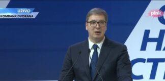 Vučić glavni odbor SNS