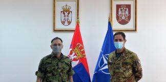 Načelnik Generalštaba Vojske Srbije, general Milan Mojsilović i komandant KFOR-a, general-major Frank Federiči