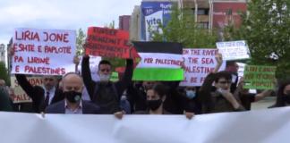 Marš u prištini za palestinu