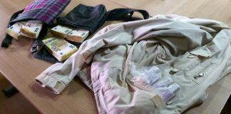 kesice sa neprijavljenim devizana u dzepovima jakne Presevo
