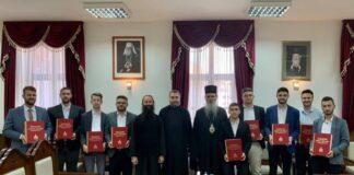 lITURGIJA maturanti Prizrenska bogoslovija Bogorodica Ljeviška