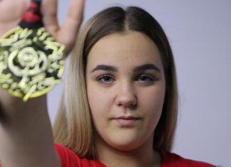 medalja Nada kik boks