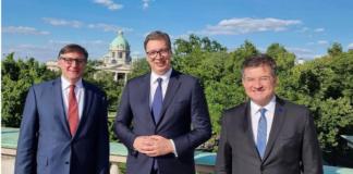Lajčak, Palmer i Vučić