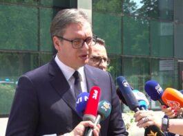 Vučić u Briselu