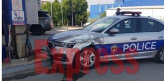 Policijski auto pumpa slupao nezgoda